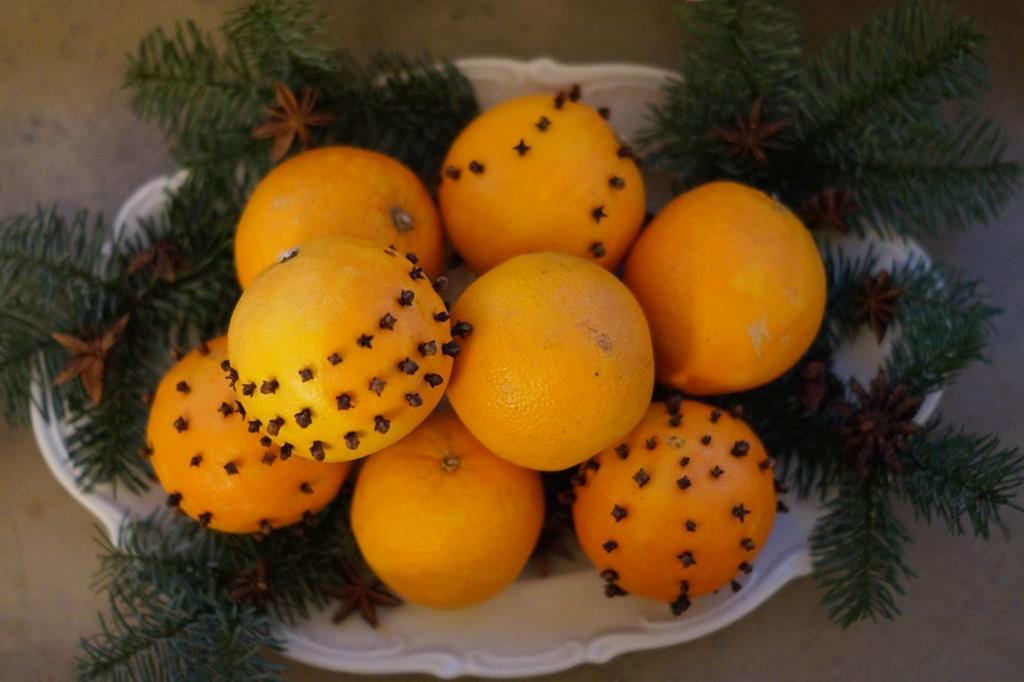 Orangen Pomander
